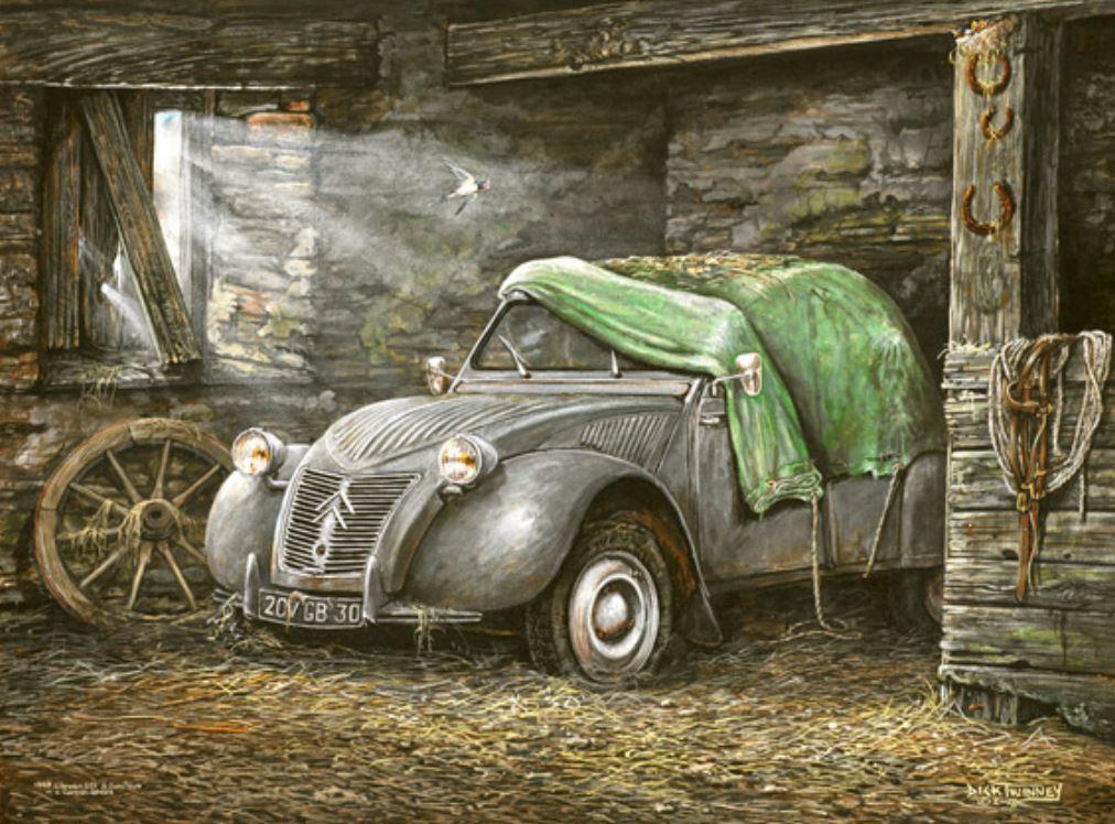 Citroën en dessin 3583
