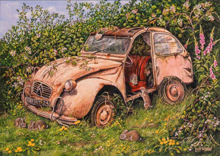 Citroën en dessin 5567