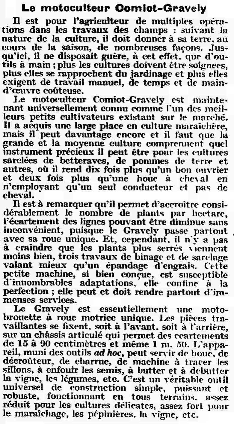 gravely - Le Motoc du photographe! - Page 4 6412