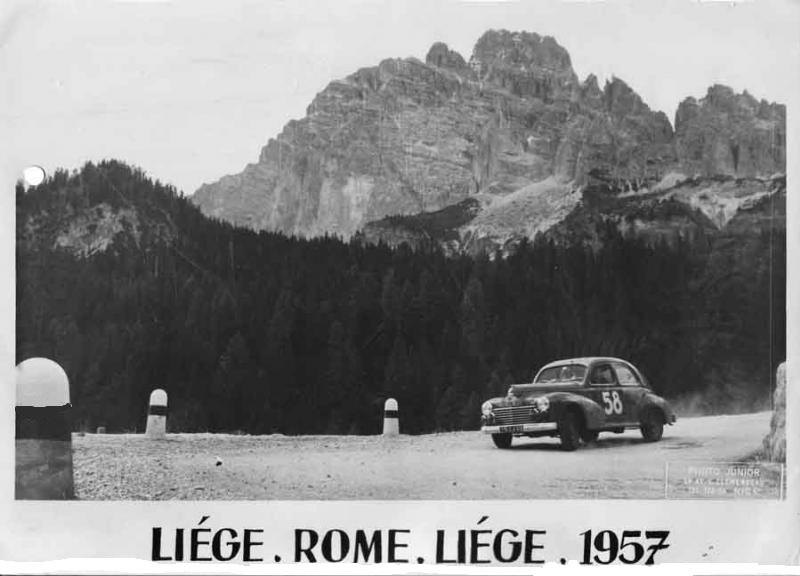 Un pilote de PEUGEOT 203 est décédé ....Roger de LAGENESTE 694