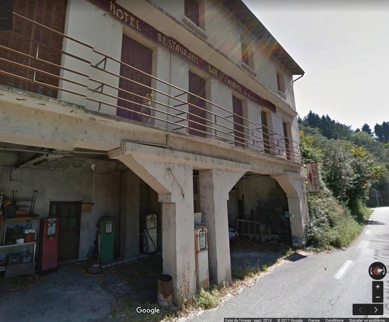 Le Relais routier de Ste Cécile d'Andorge (Gard) 7149
