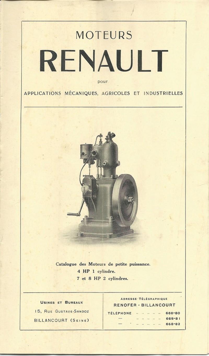 RENAULT - documentation Moteurs RENAULT Moteur12