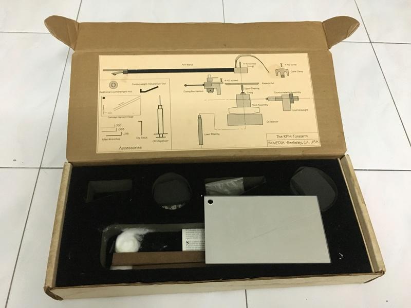 Immedia RPM-1 Turntable with RPM Uni-Pivot Tonearm (Used) Img_8710