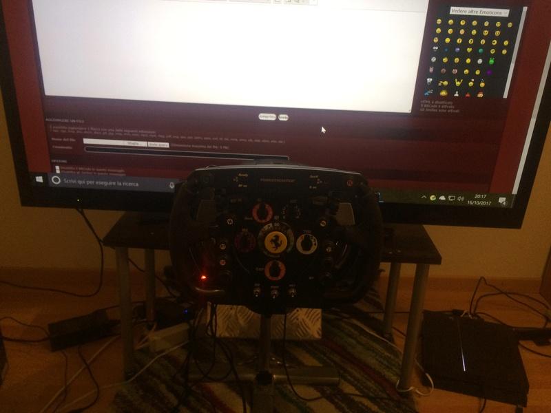 la mia esperienza con i simulatori/volanti di guida  Img_8511