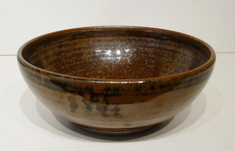 Copper Burnished Bowl LP Mark P1050210