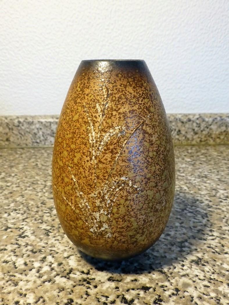 Distinctive Sgraffito Decorated pots - Japanese mark P1080716