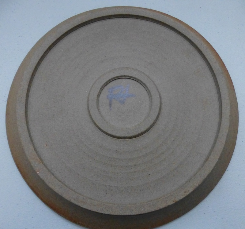 Pretty Brown Swirl Plate RA / FJ ?? P1130211