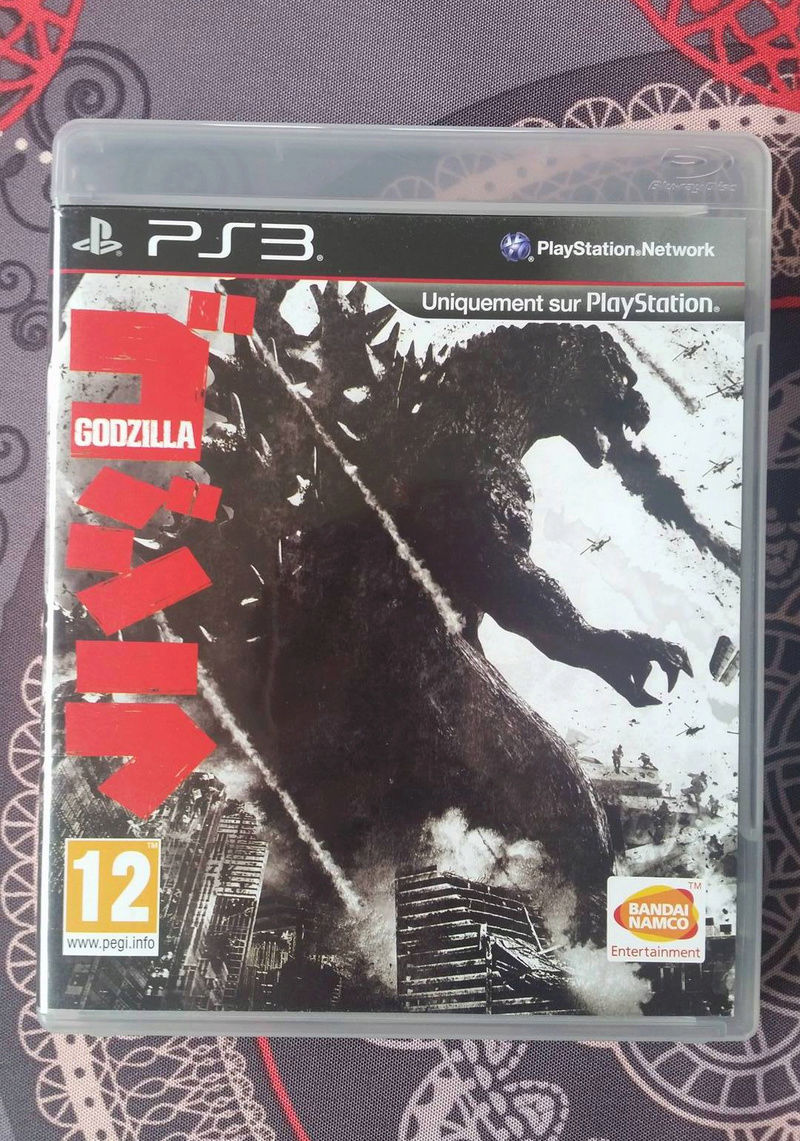 Liste des jeux pas courants sur PS3 - Page 3 Godzil10