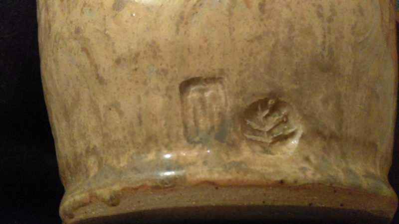 HELP,please what is this Vase called & ID MAKER MARKS ON stoneware V Vase Imag1711
