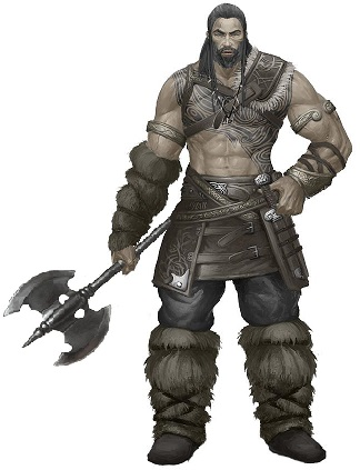 Bru Zher- Barbarian tbd Bru210