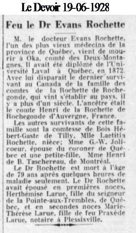 Qui était le comte Roger de Boishébert de Gasté? Deces_10