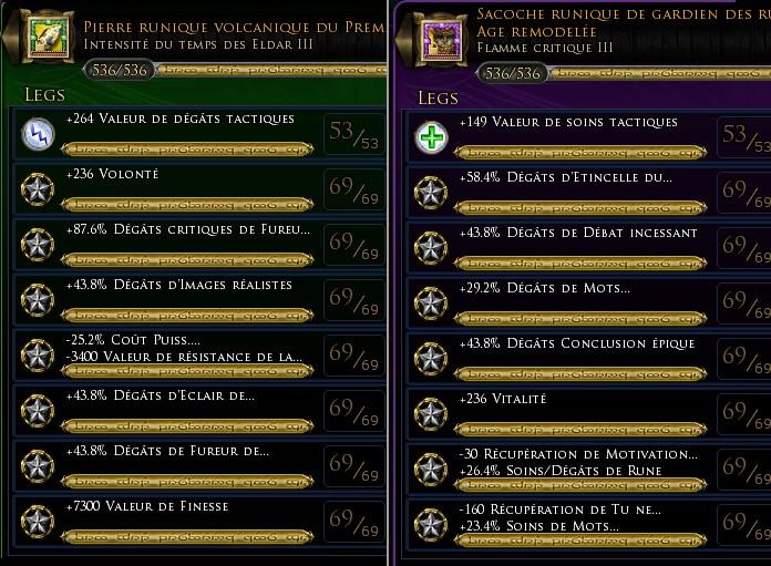 """Gardien des runes Foudre """"Gimrot"""" traits et équipements Lygend13"""