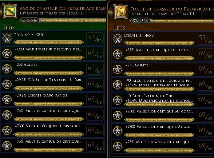 """Chasseur maître archer """"Verdo"""" traits et équipements Lygend14"""