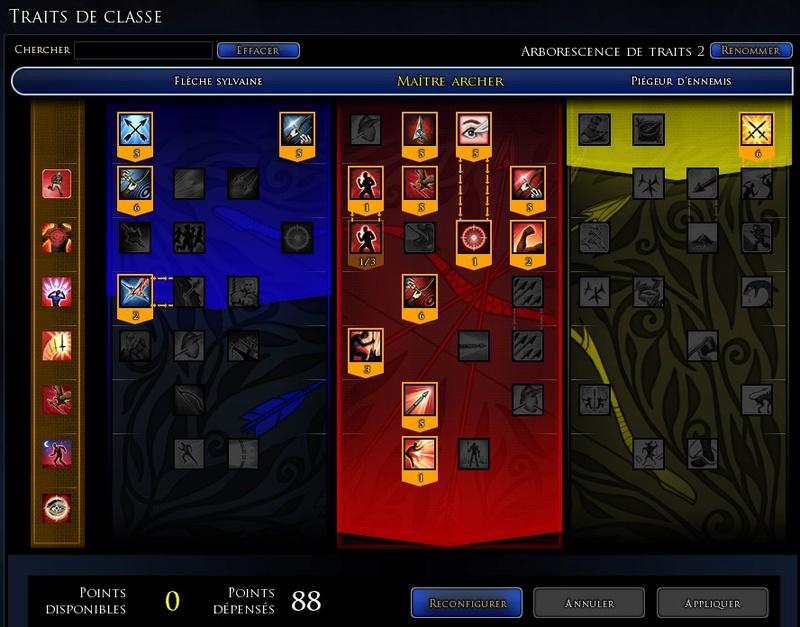 """Chasseur maître archer """"Verdo"""" traits et équipements Traits18"""