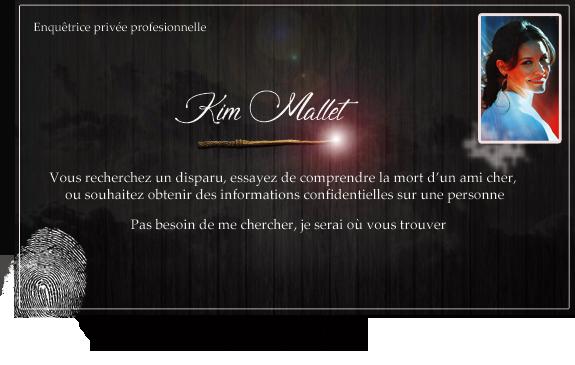 Contactez Kim Mallet  Carte_12