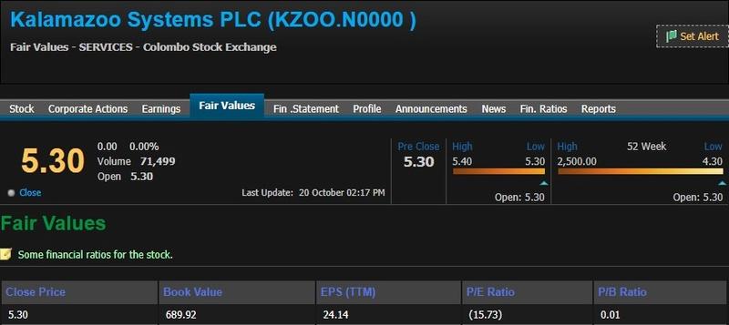 RENUKA CAPITAL PLC (KZOO.N0000) Kzoo11