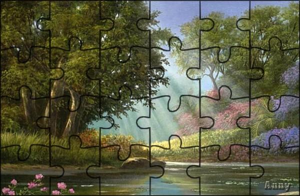 """N° 19 PFS """" Effet Puzzle """" Pizzle10"""