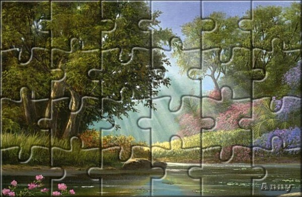 """N° 19 PFS """" Effet Puzzle """" Pizzle11"""
