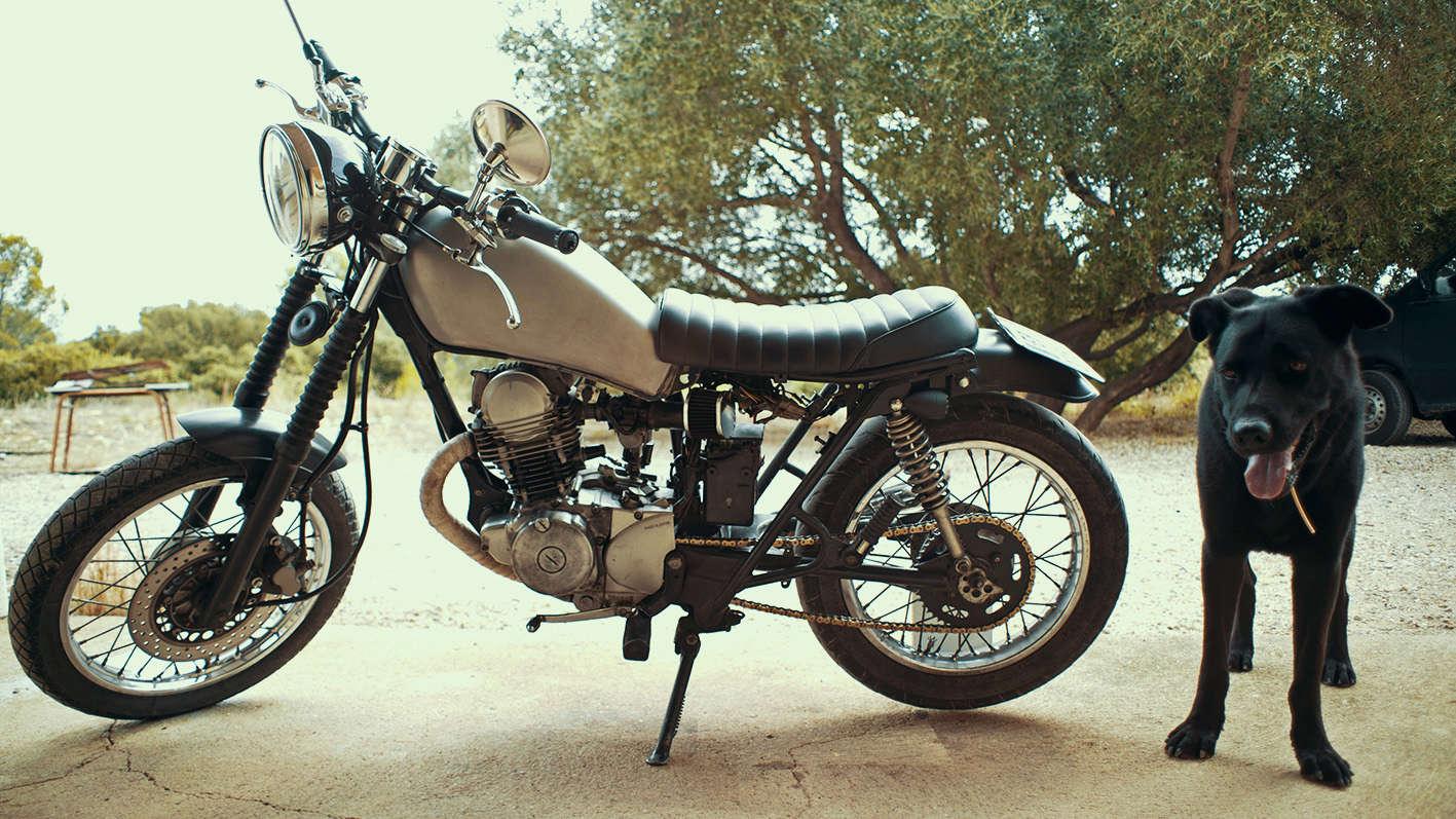 Nouvelle moto 125, une SR custom à mort bien rock'n'roll 12510