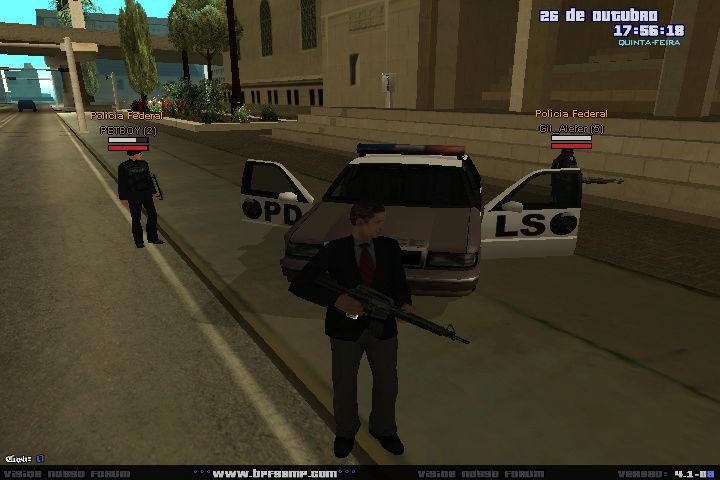 [POLICIA FEDERAL] Fazendo a segurança da PREF. Asdasd10