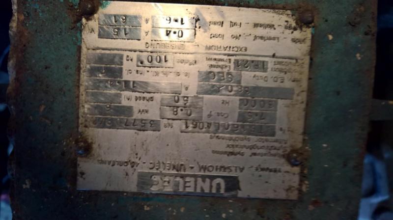 cherche infos sur vieux groupe electrogene unelec Wp_20110