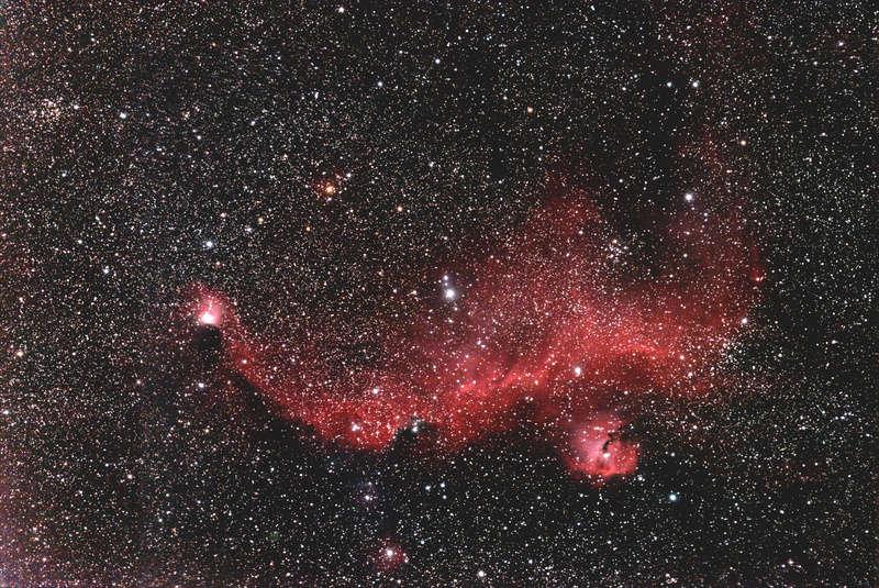 IC2177 Nébuleuse de la Mouette Ic217713