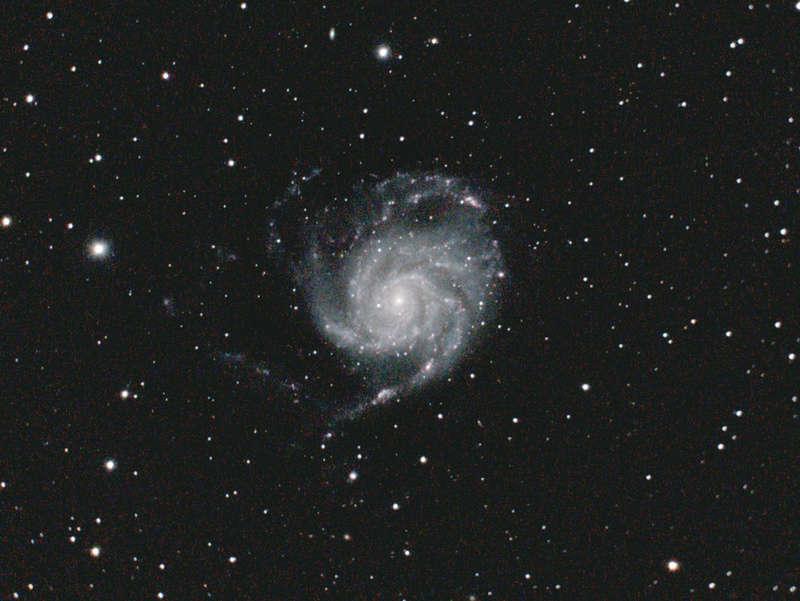 Ngc4565 et m100: couleur et spirale M101_114