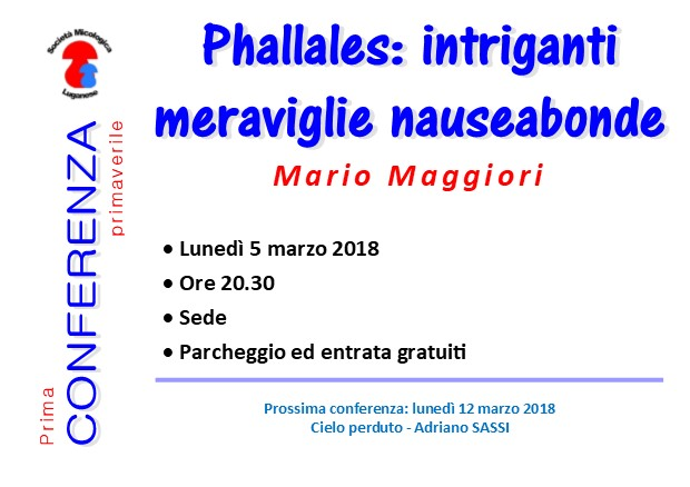 1ma conferenza: Phallales, intriganti meraviglie nauseabonde Confer11