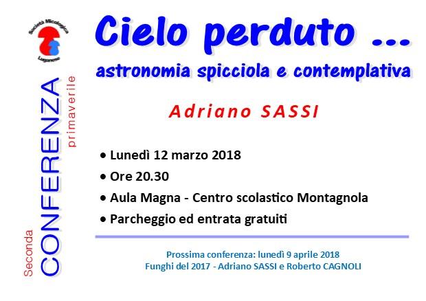2a conferenza: Cielo perduto, astronomia spicciola e contemplativa Confer12