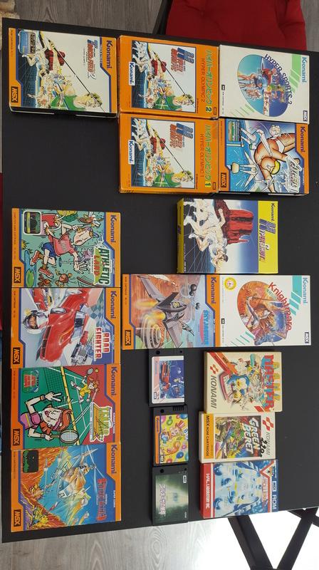 [EST] Philips MSX2 NMS 8250 + 19 jeux cartouches + disquettes/manettes 20171011