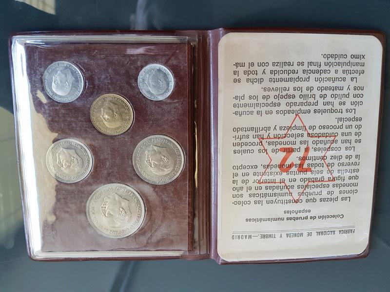 Cartera especial para coleccionistas  (*72). Estado Español 20180321