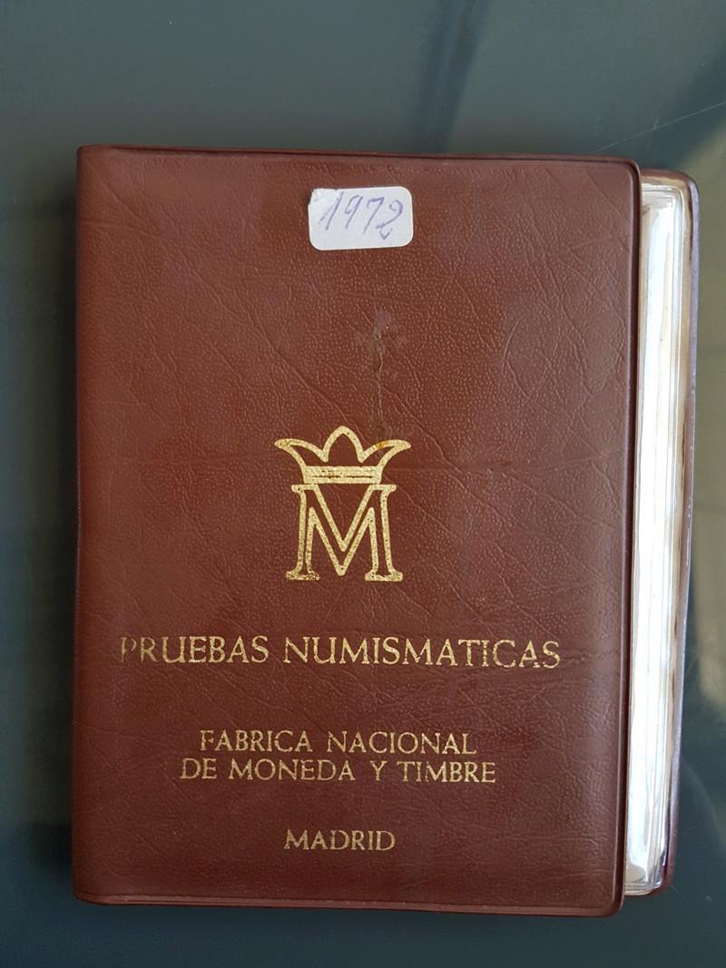 Cartera especial para coleccionistas  (*72). Estado Español 20180325