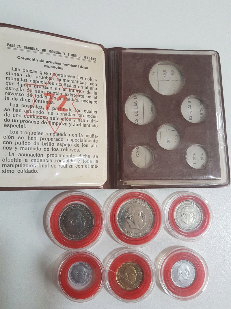 Cartera especial para coleccionistas  (*72). Estado Español 20180326