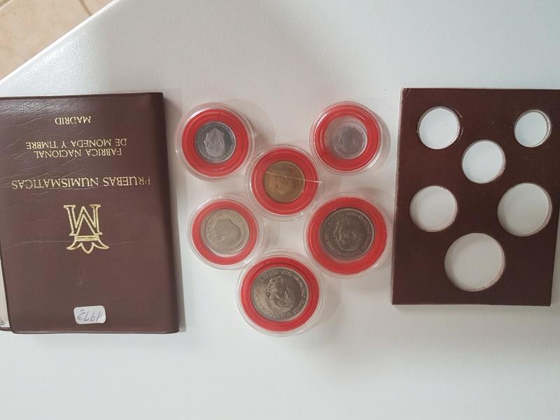 Cartera especial para coleccionistas  (*72). Estado Español 20180327