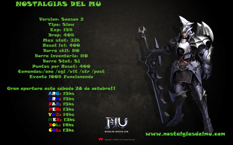 Nostalgia del Mu S2 15exp 40drop Img10