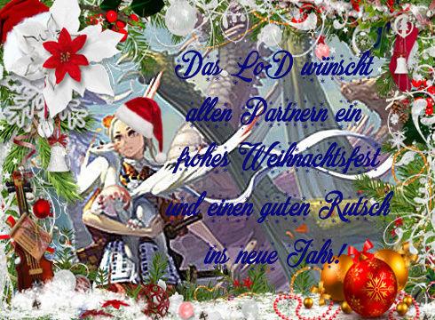 Frohe Weihnachten vom LoD Partne10