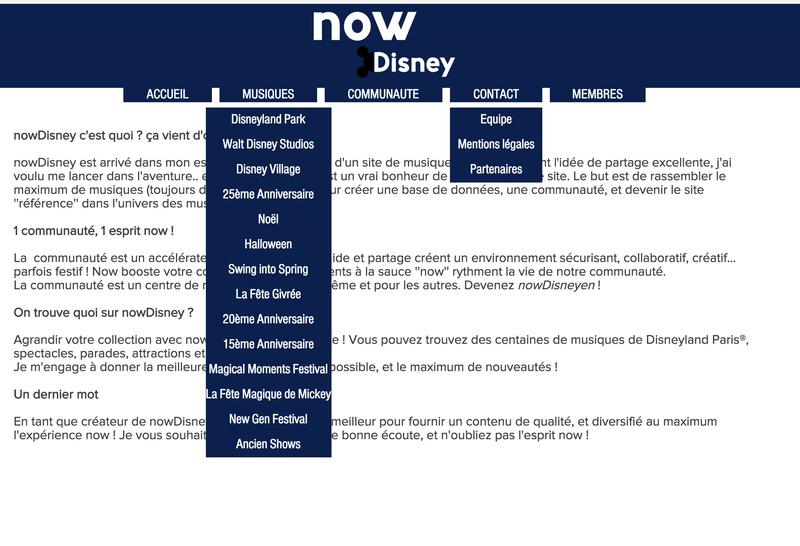 nowDisney : nouvelle idée!  Captur10