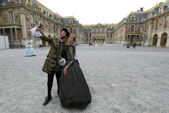 Fêtes galantes à Versailles, photos et films de l'événement 64099310