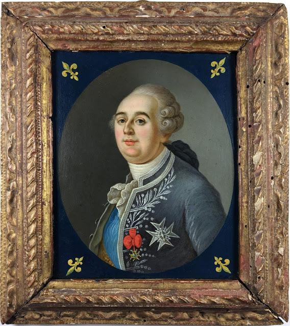 Miniatures représentant la famille royale Louis_10