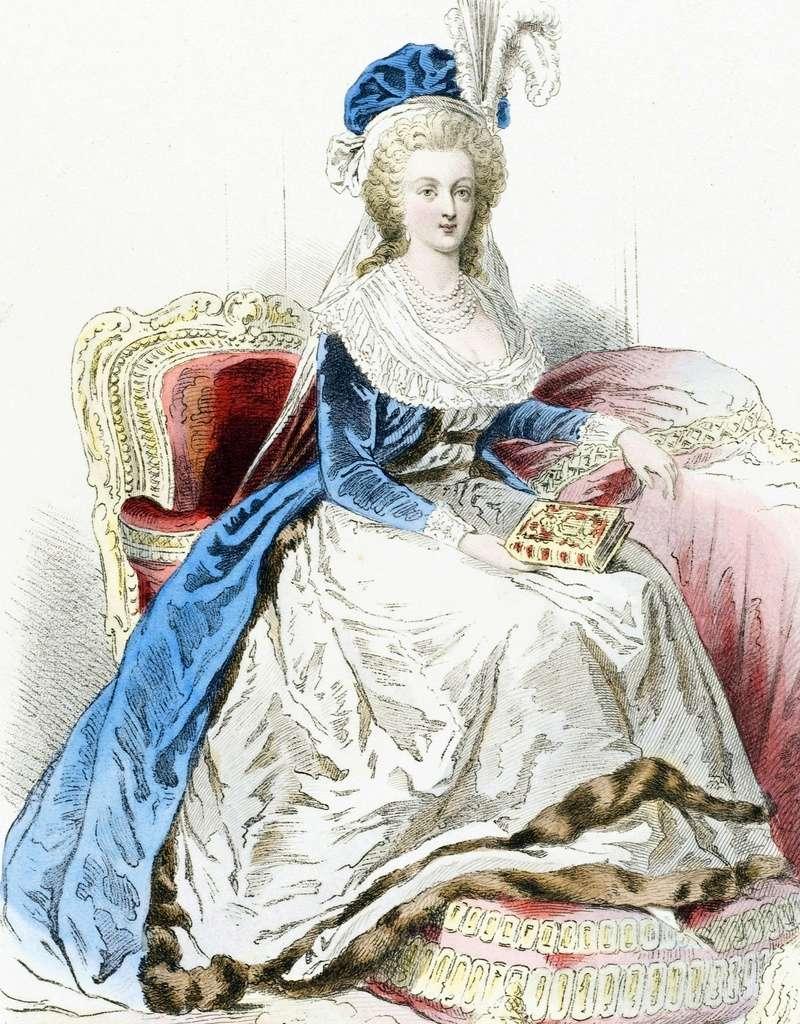 Marie-Antoinette au livre en robe bleue - Page 3 Xvmcc010