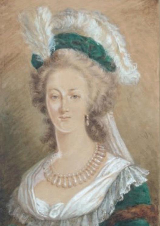 Marie-Antoinette en robe rouge sans ses enfants - Page 2 Zzz9-419