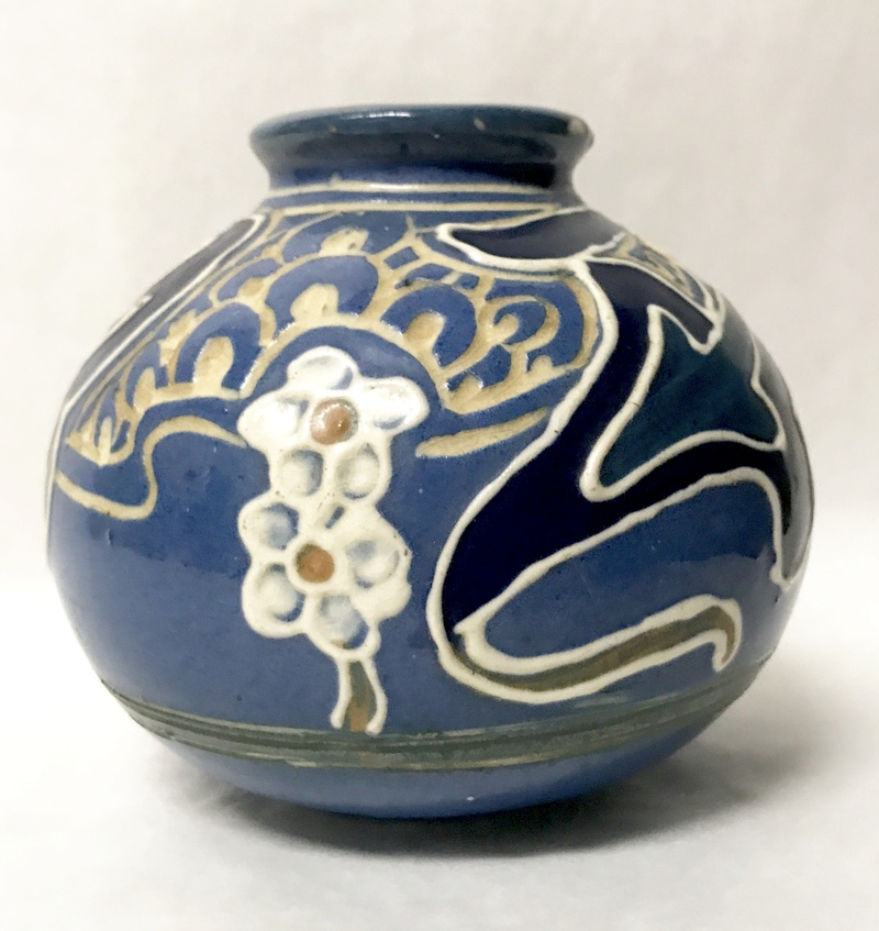 Help identifying maker of arts and crafts vase  Img_8113