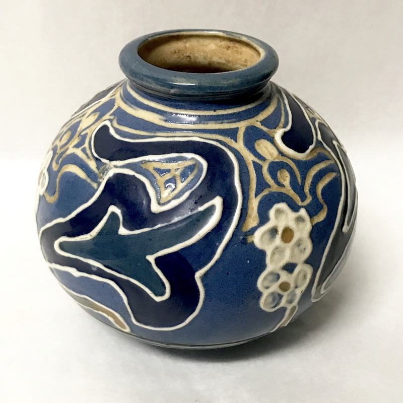 Help identifying maker of arts and crafts vase  Img_8114