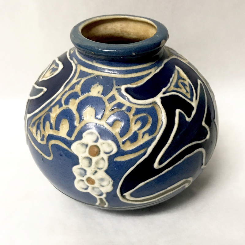 Help identifying maker of arts and crafts vase  Img_8115