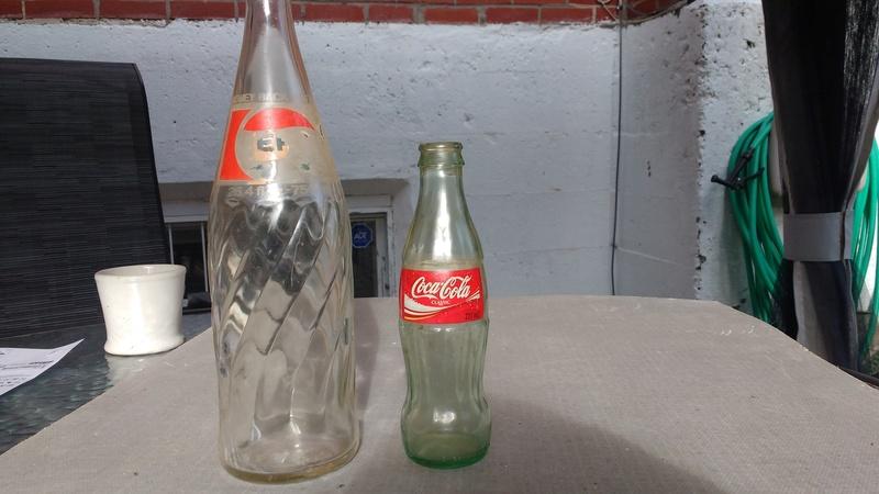 Collection d'une centaine de bouteilles 2710