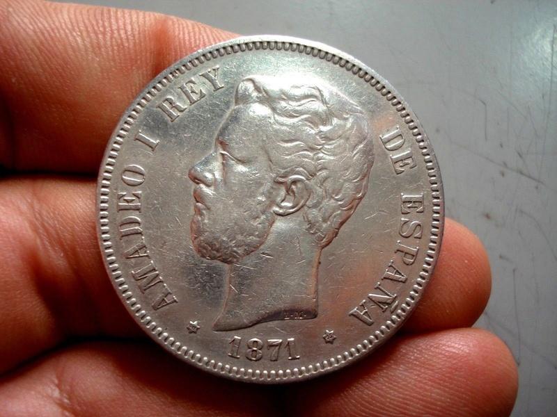 1871*18-75 Amadeo I 5 pesetas Amadeo10