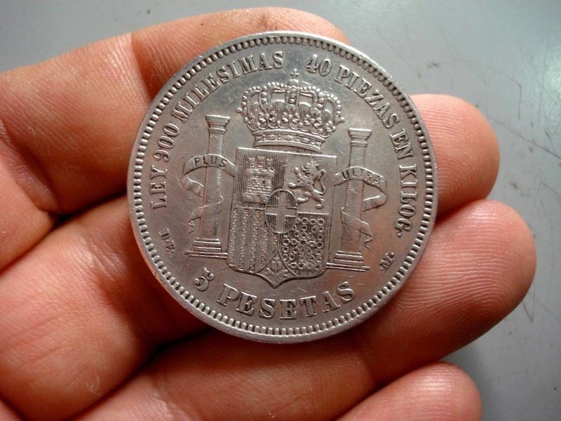 1871*18-75 Amadeo I 5 pesetas Amadeo11
