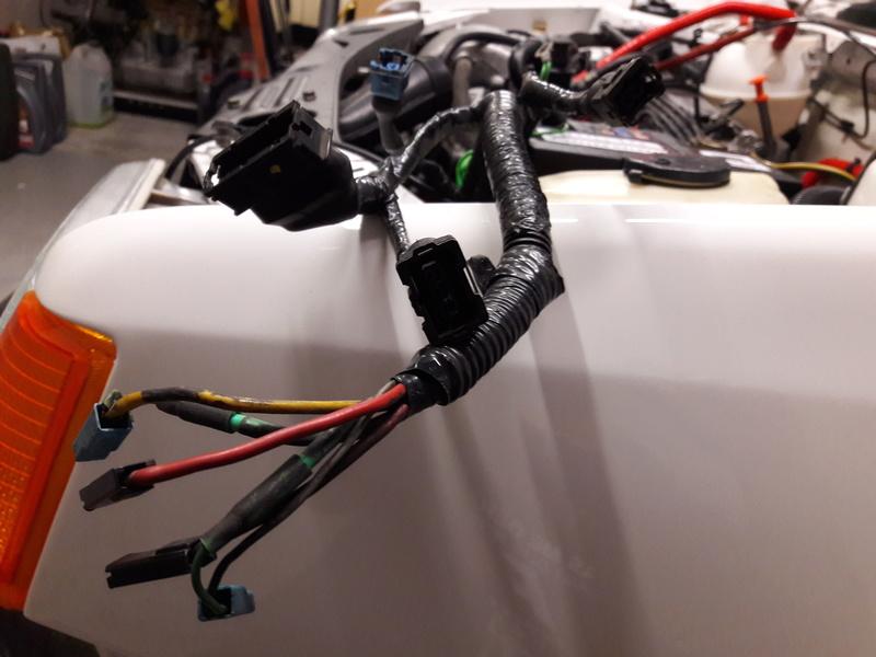 Passage faisceau moteur 205 GTI 1.9 Faisce10