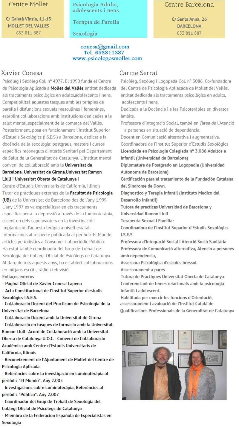 Sexólogo - Sexologos Comarca del Valles Mollet Granollers Jpgpar10