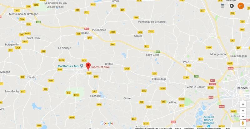 SAMEDI 2 JUIN 2018 - Opération CADDIE / Collecte de croquettes - Super U Montfort-S-Meu Carte10